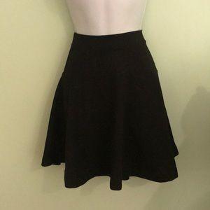 Old navy black skater skirt
